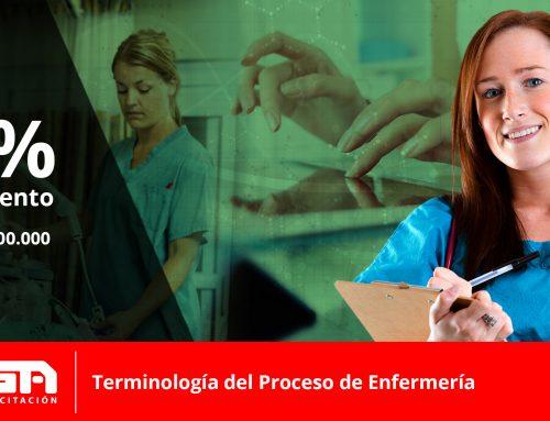 45% de descuento Curso de Proceso de Enfermería y Terminología Clínica