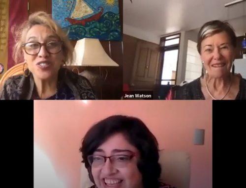 Nuestra Directora Académica en  es entrevistada por la Dra Jean Watson y Mary Rockwood del Watson Caring Science Institute